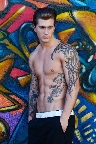 Buff Tattooed Pictorials