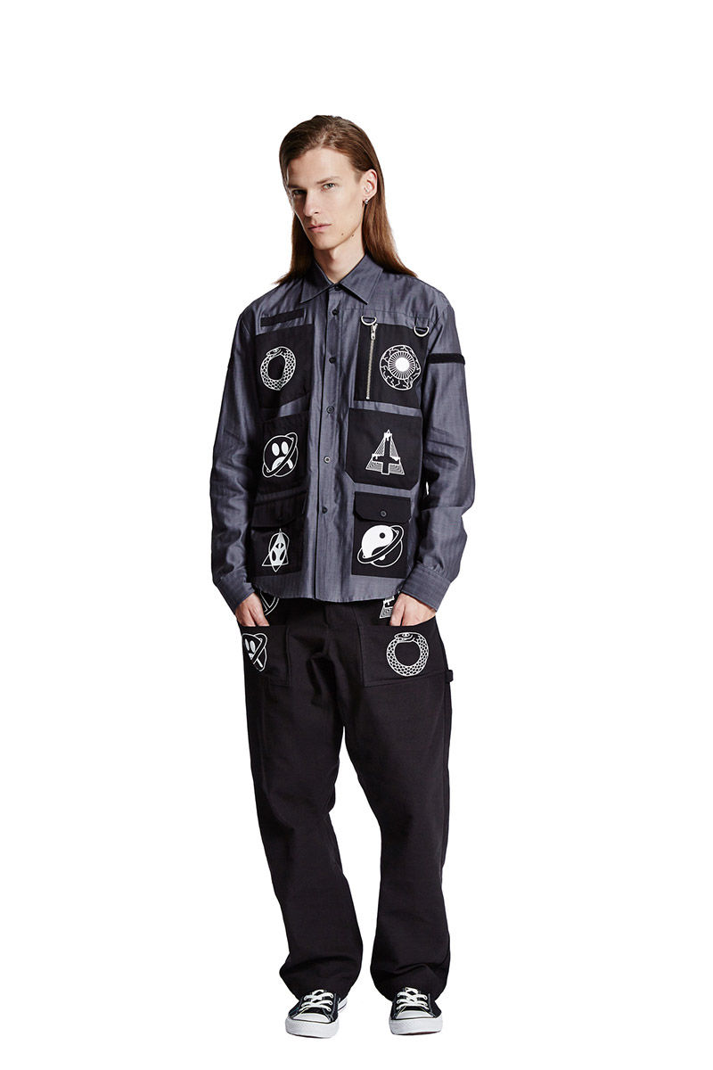 Occult-Themed Streetwear Calalogs