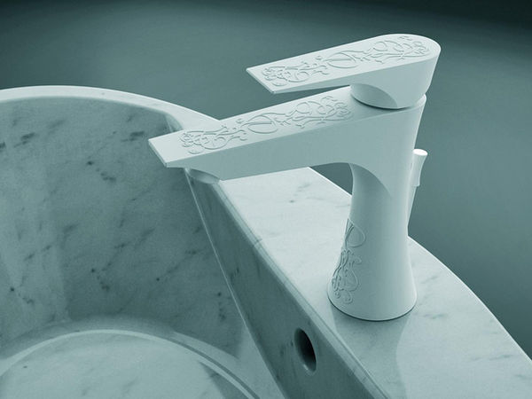Subtly Embossed Faucets