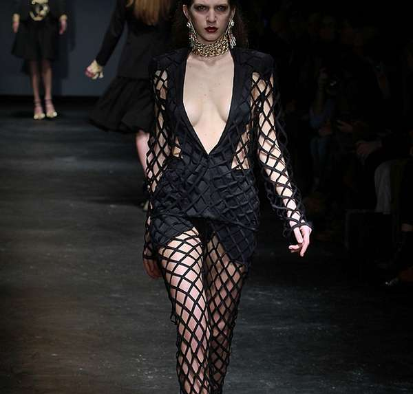 Fierce Fishnet Frocks