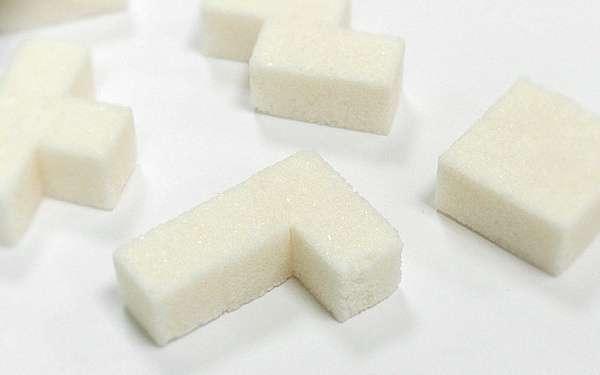 Tetris Sugar Cubes