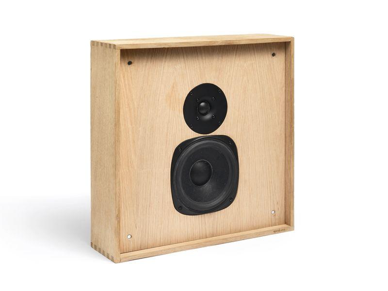 Wireless Wooden Speakers