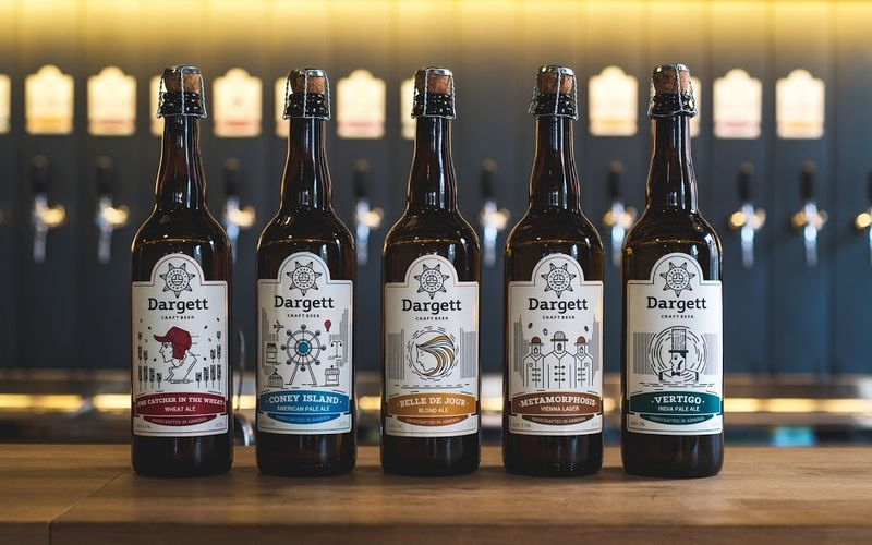 Map-Inspired Beer Branding