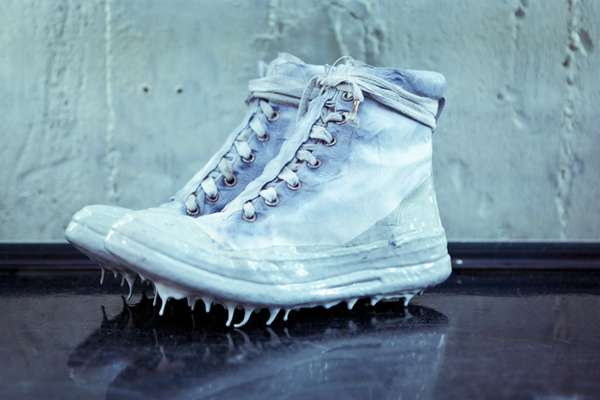 Daring Dripping Footwear