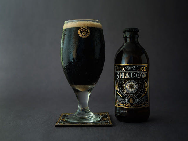Gilded Stout Beer Labels