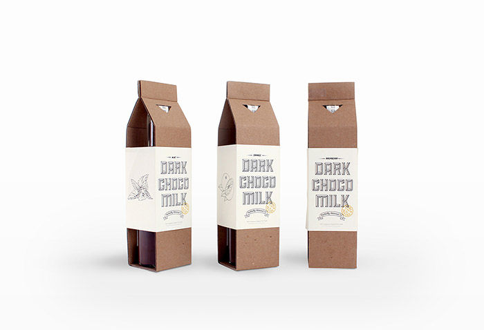 Minimalist Milk Chocolate Branding