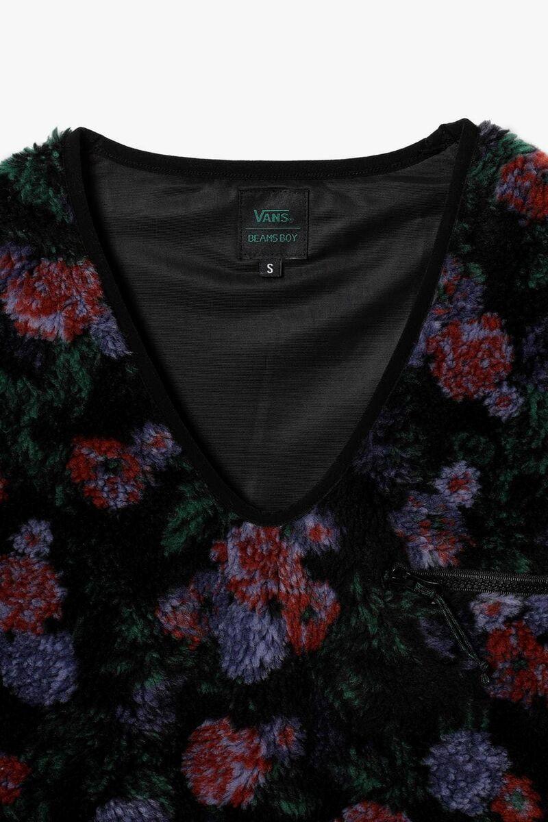 Dark Floral Patterned Fashion