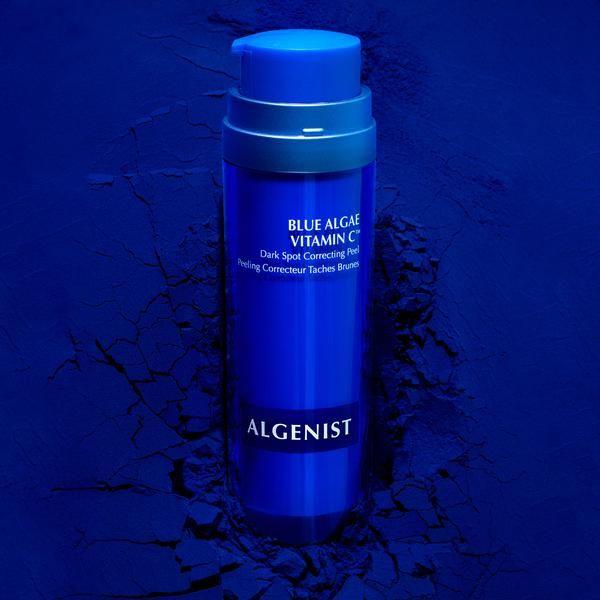 Blue-Hued Skin Peels