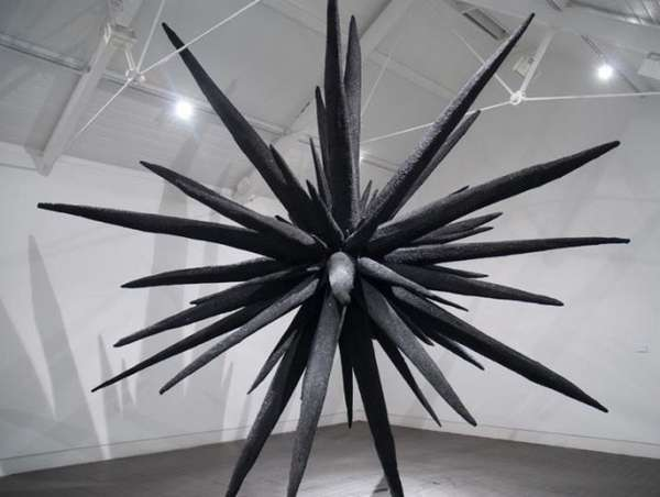 Spiky Fiberglass Sculptures