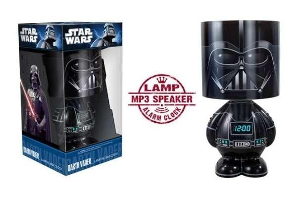 Dark Force Illuminations Darth Vader Lamp And Alarm Clock