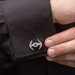 Fighter Ship Cufflinks