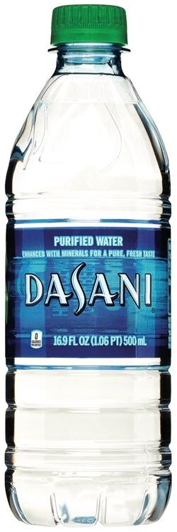 Reduced Water Bottle Labels