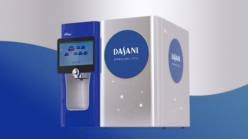 Package-Free Vending Machines