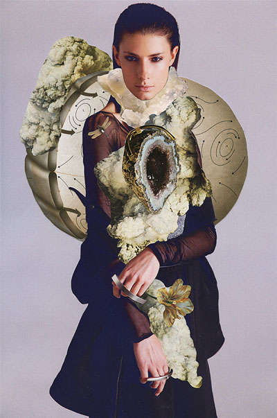 Avant-Garde Fashion Collages