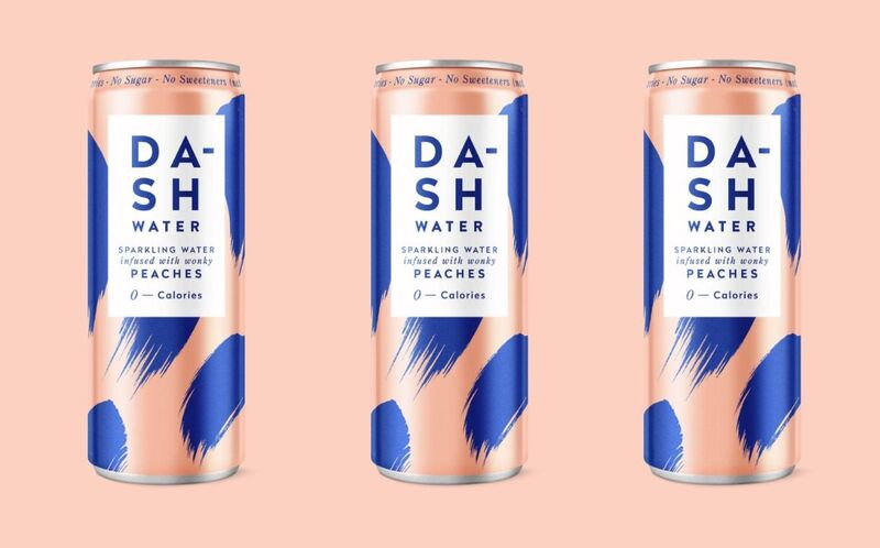 British Peach-Infused Waters