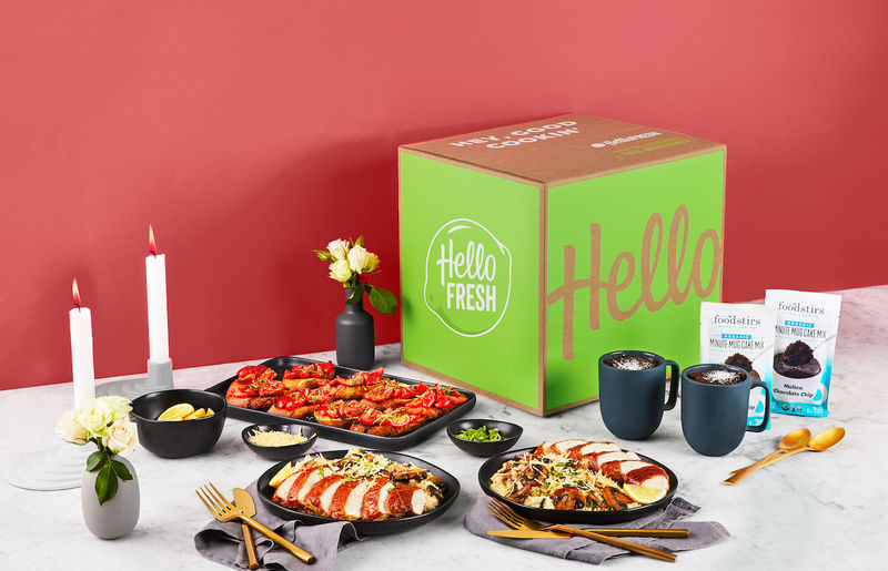 Date-Themed Meal Boxes