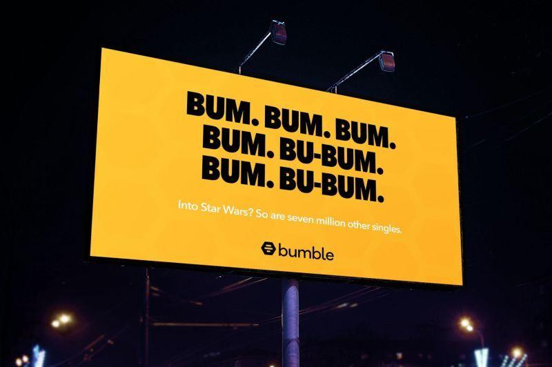 Humming Dating App Billboards