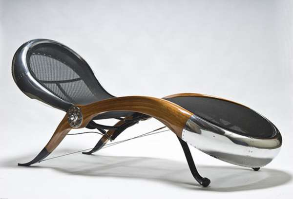 Sleek Aviation Furniture
