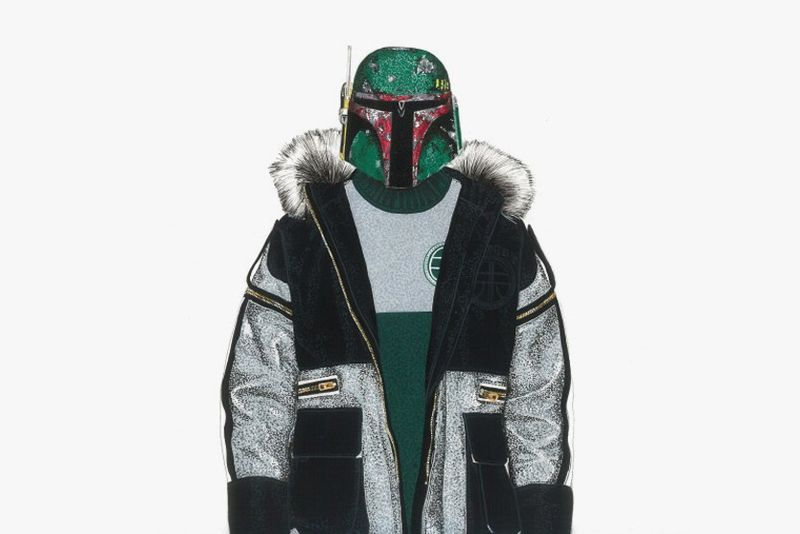 Sci-Fi Streetwear Illustrations
