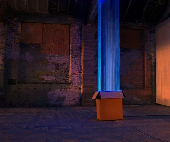 Illuminated Thread Installations
