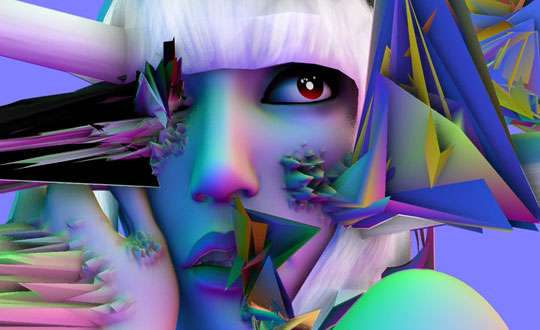 Geometric Gaga Art