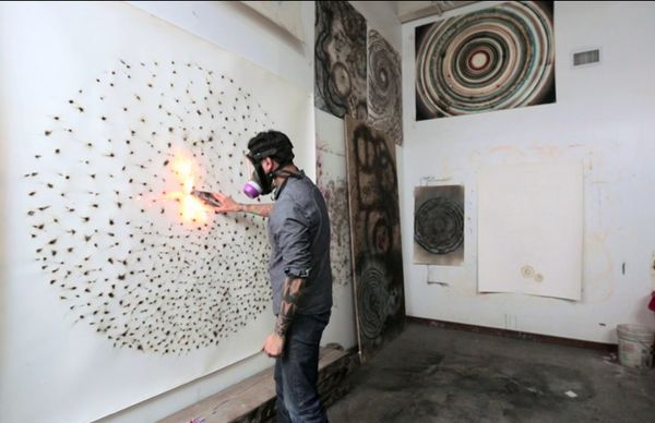 Explosive Firework Art