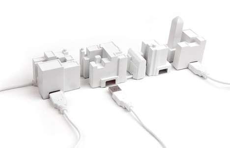 Cityscape USB Hubs