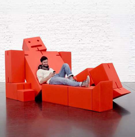 Red Robot Recliners