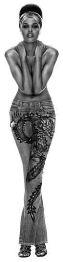 Dragon Tattoo Denim