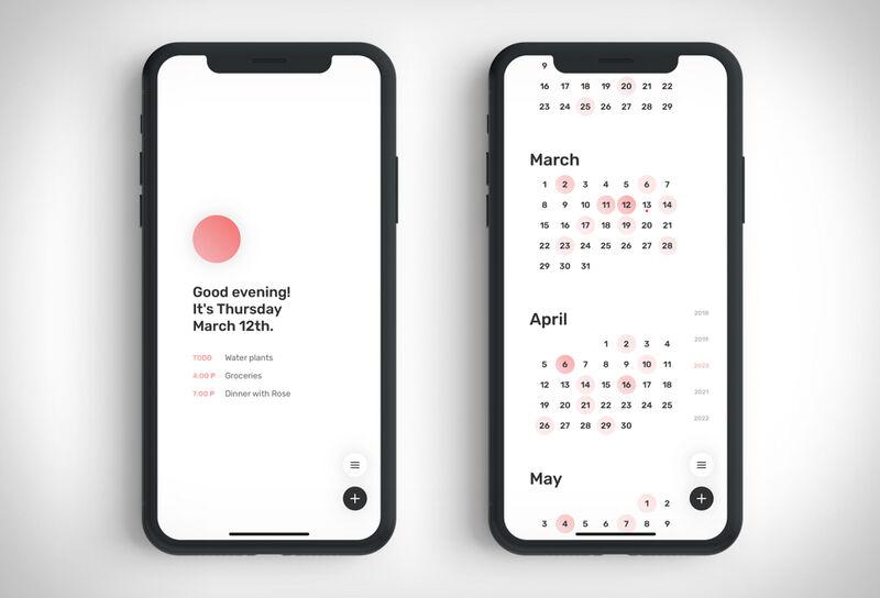 Minimalist Calendar Apps