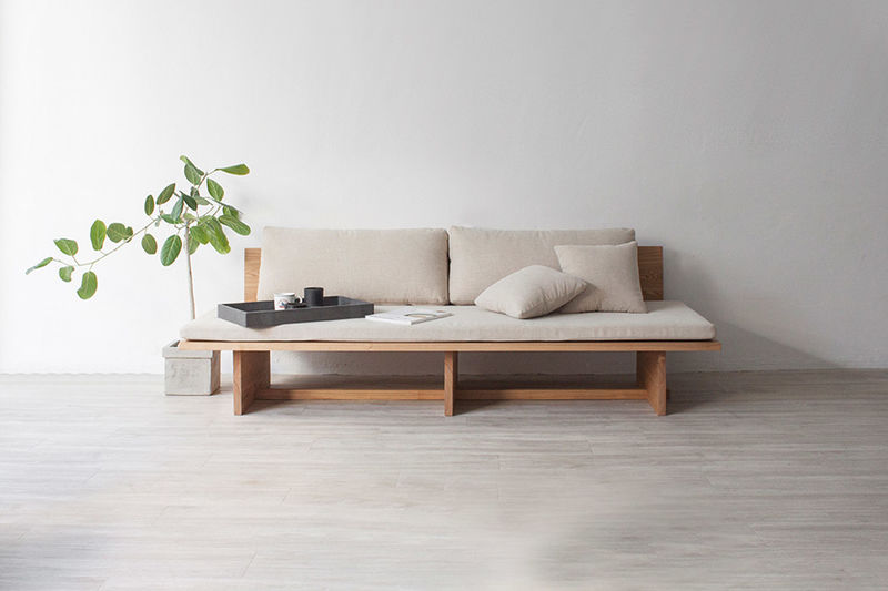 Raw Wooden Daybed Designs