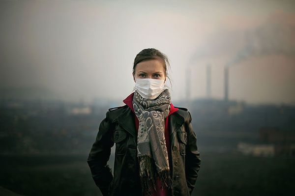 Polluted Town Photography