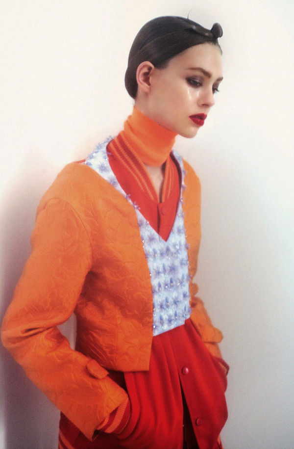 Coy Color Clashing Editorials