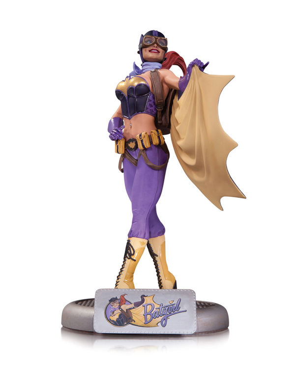 Superhero Pin-up Statues
