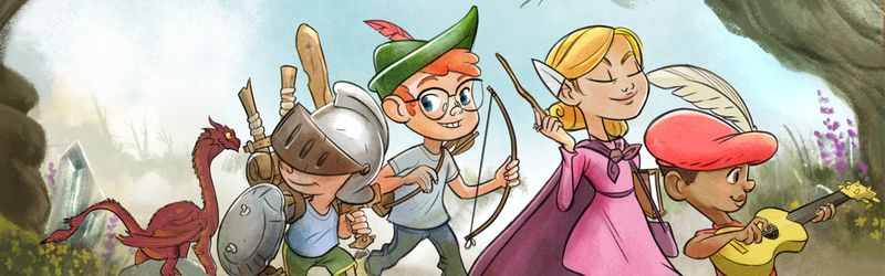 Kid-Friendly Roleplaying Books