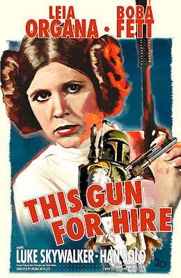 Sci-Fi Film Noir Posters