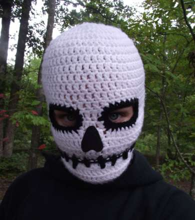 Sinister Skull Face Warmers Death Mask