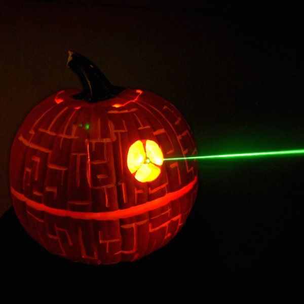 Galactic Gourd Carvings Death Star Pumpkin