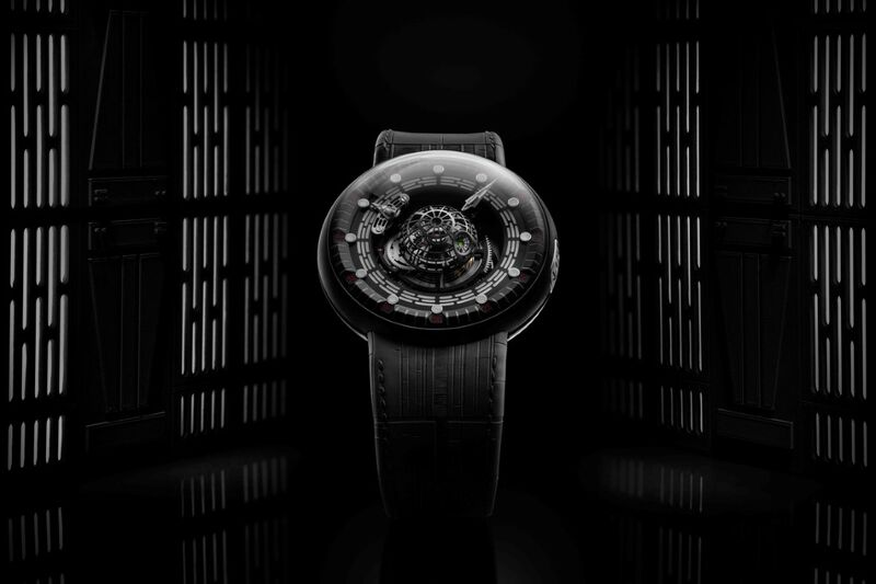 Sci-Fi Space Station Timepieces