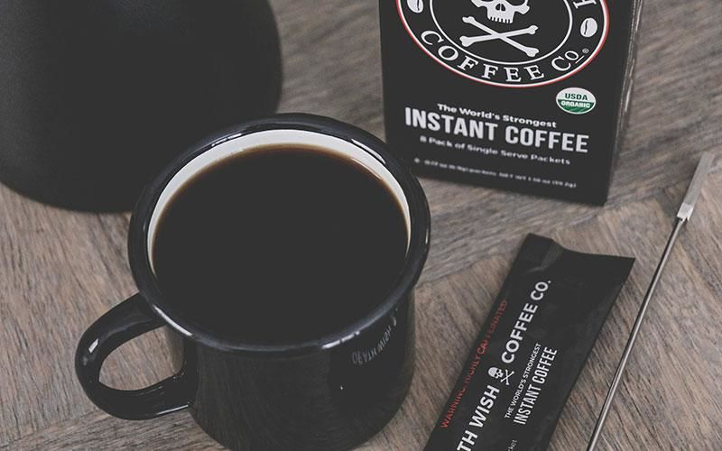 Extra-Strong Instant Coffees