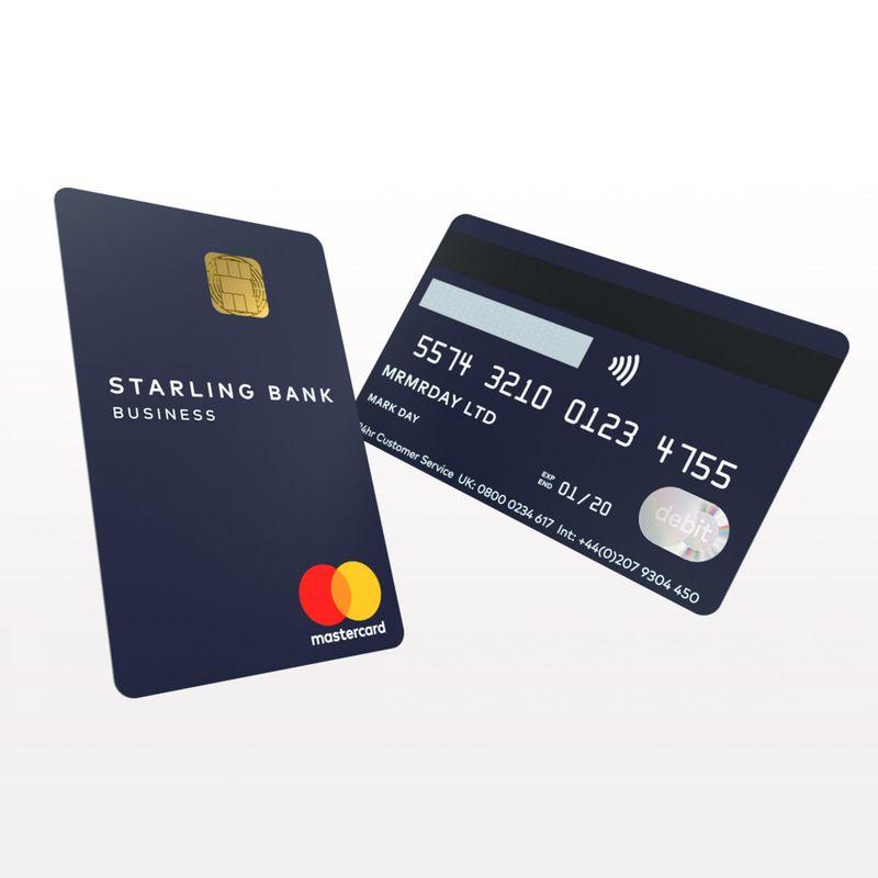 Vertical Debit Card Designs