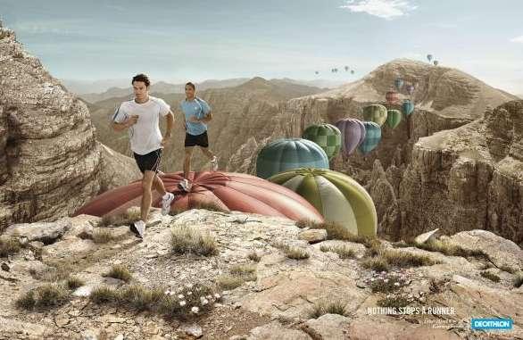 Air Balloon Jogging