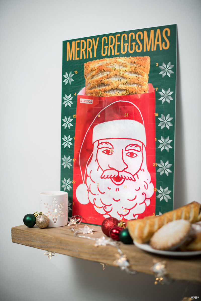 Bakery Coupon Advent Calendars