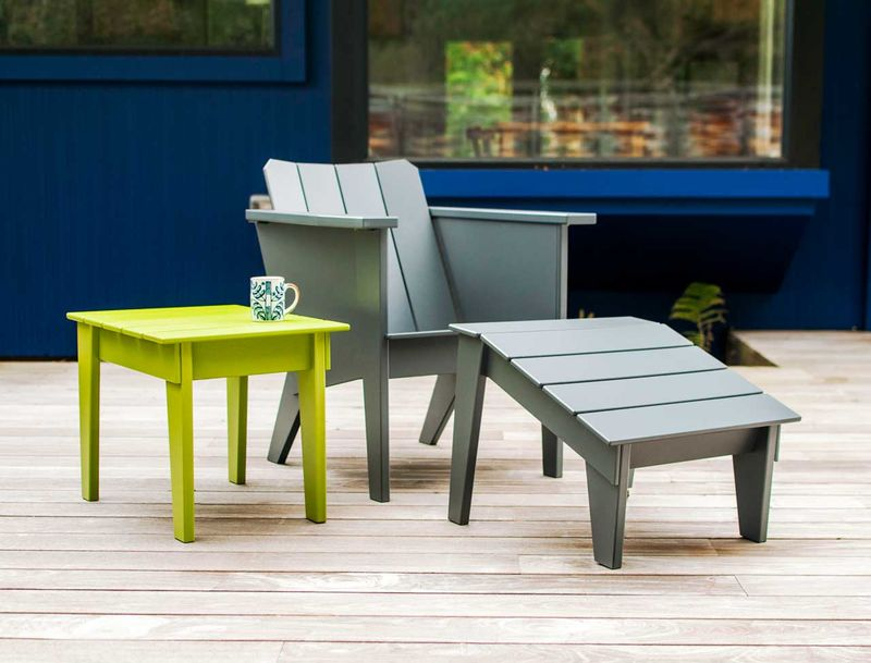 Vibrant Plastic Outdoor Furnishings