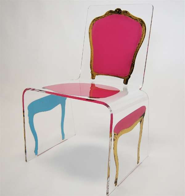 Lavish Post-Modern Seating: The Deconstructed Acrylic ...