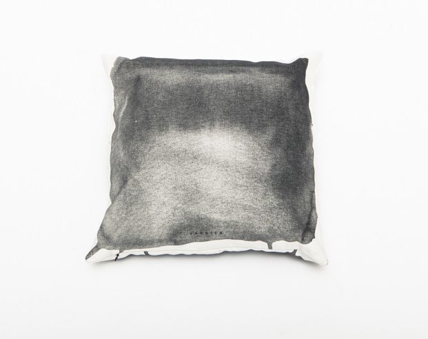 Smudged Charcoal Cushions