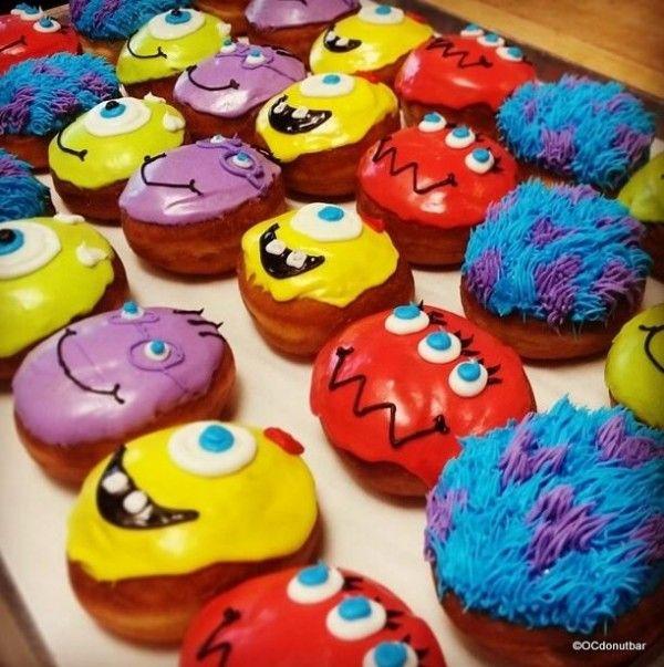 Disney Character Donuts