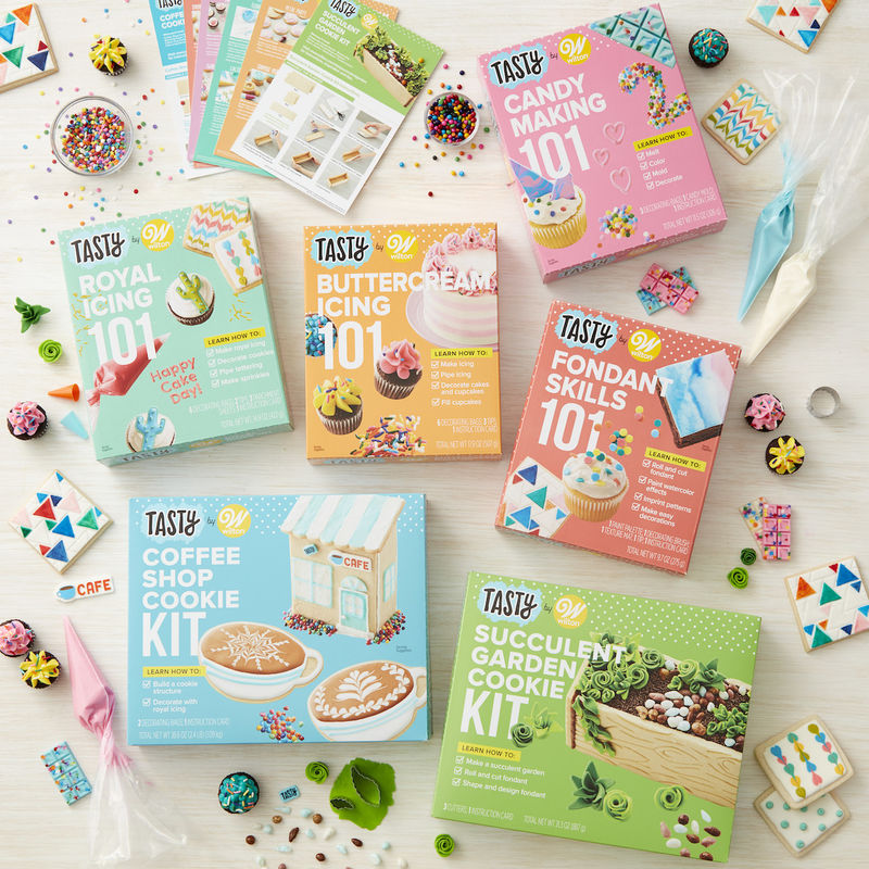 Playful Food-Decorating Kits