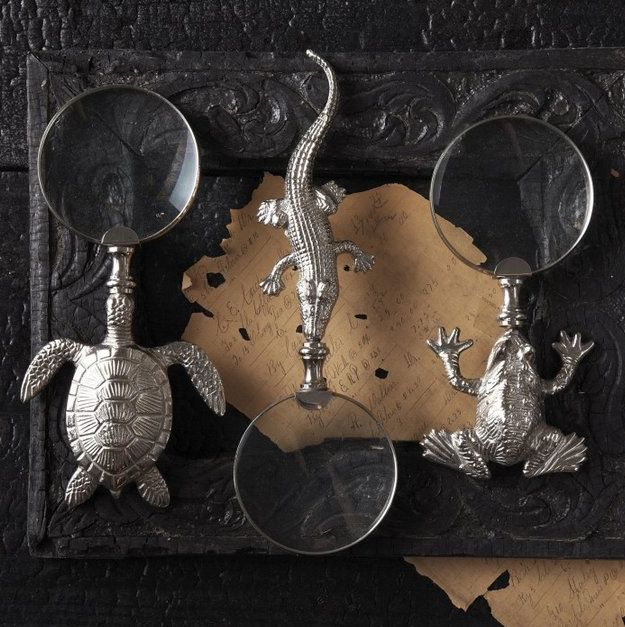 Reptilian Magnifier Decor