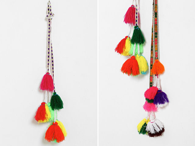 Peruvian Decorative Tassels